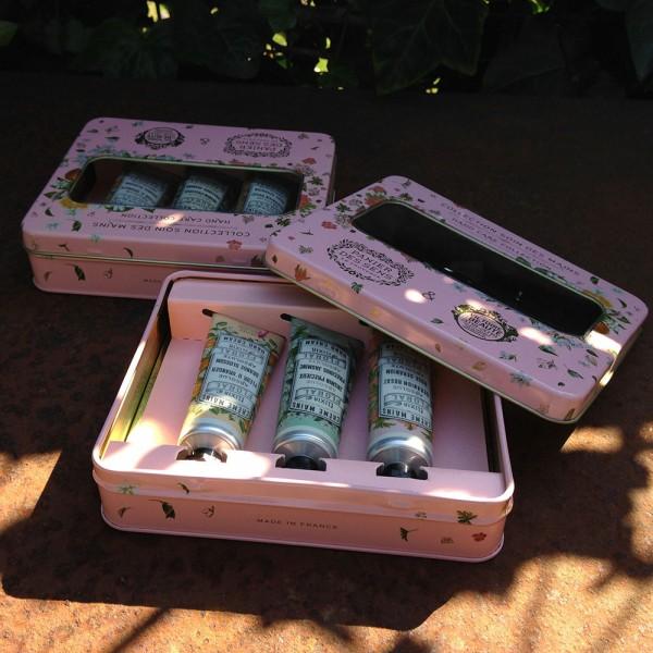Handcrème Box in rosa